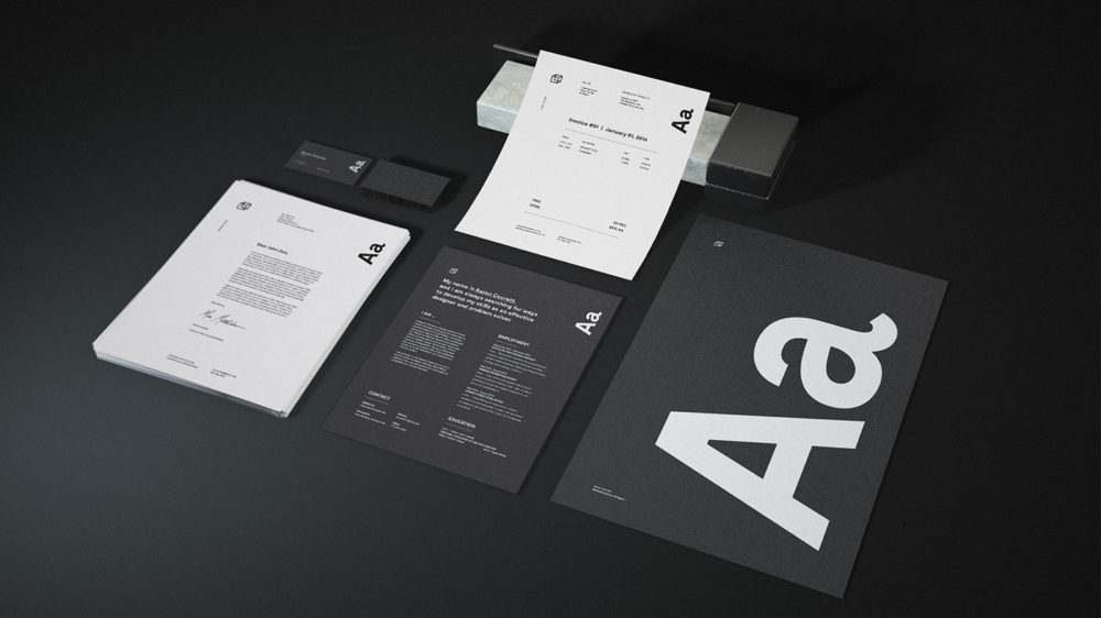 mockups de papelería gratuitos enfoquegaussiano