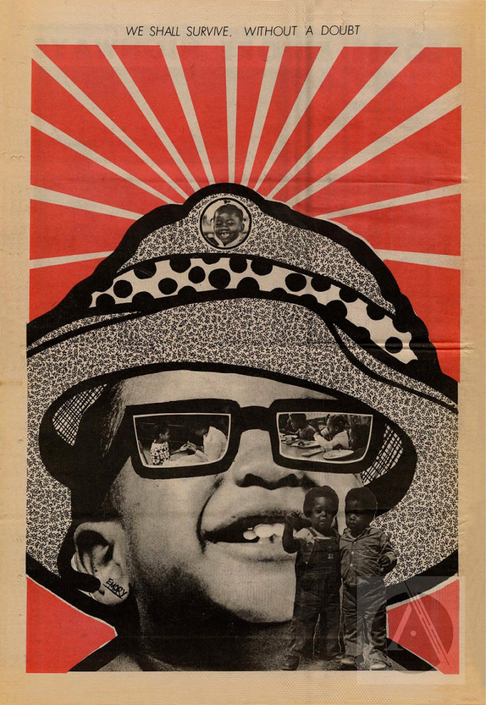 Emory Douglas Collage we shall survive