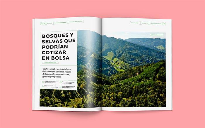 Revistas con estrella Behance BuenaVida Relaja el Coco