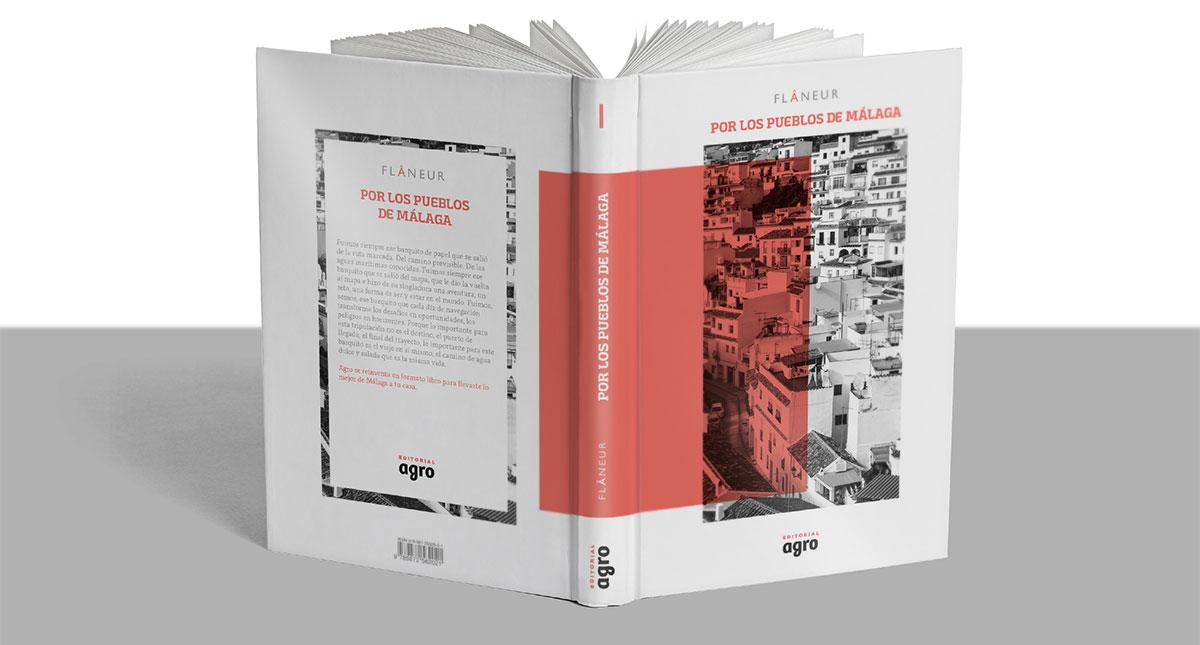 Diseño de colección, cubiertas y tripas para libros de rutas gastronómicas y turísticas, publicado por Agromedia.
