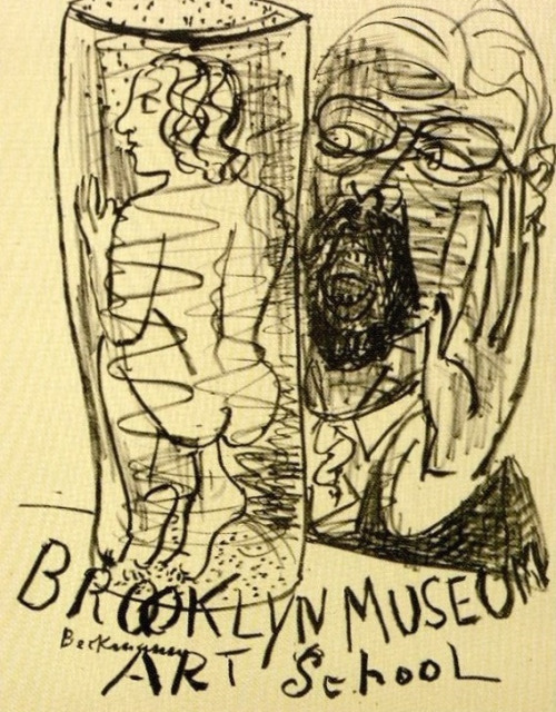 Beckmann Brooklyn Museum Art School