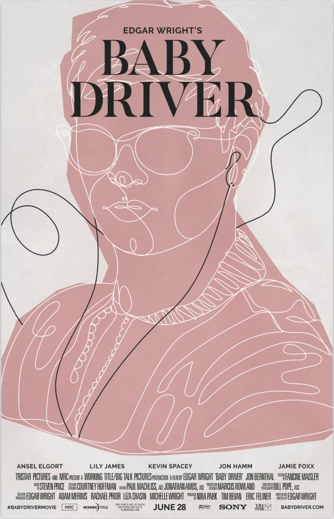 Cartel alternativo Baby Driver