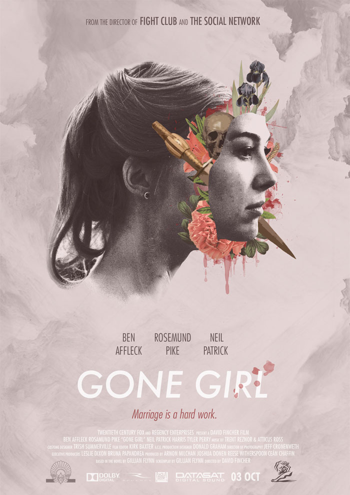 Cartel alternativo Gone Girl
