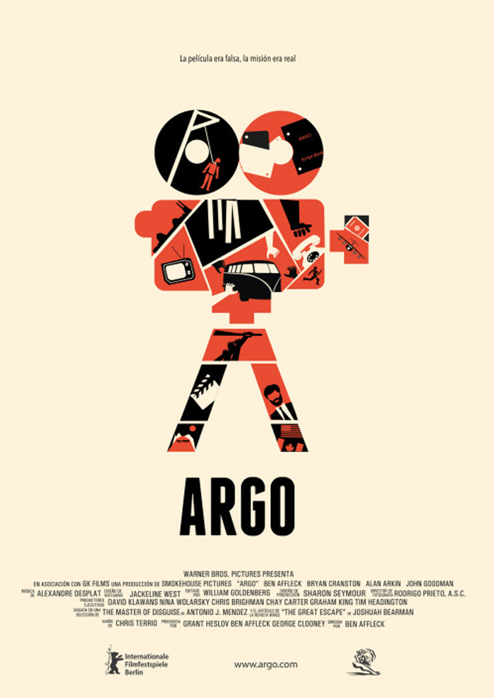 Cartel alternativo Argo