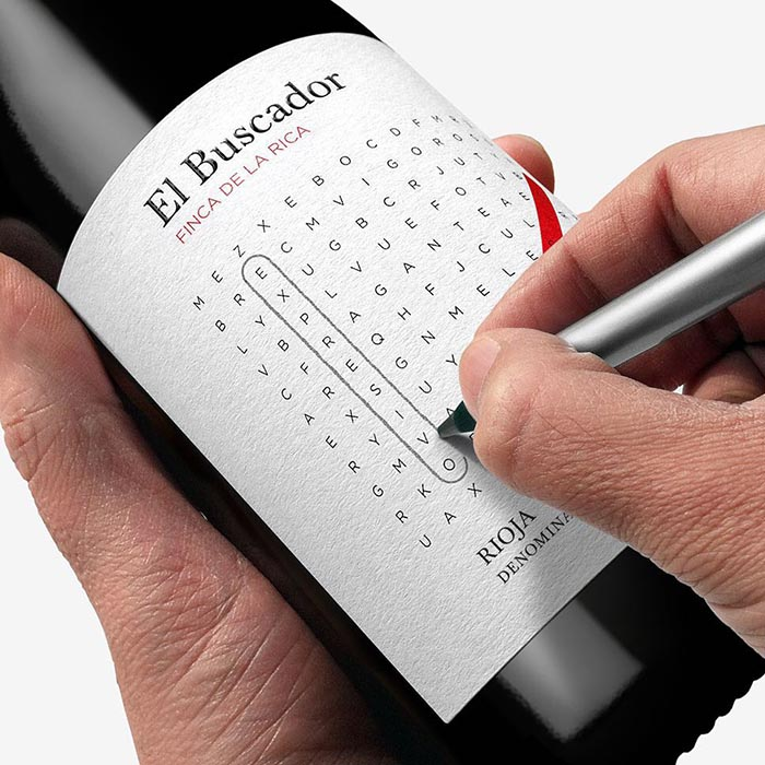 Packaging creativo vino Dorian Finda de la Rica