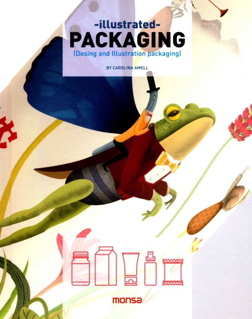 Illustrated packaging libro