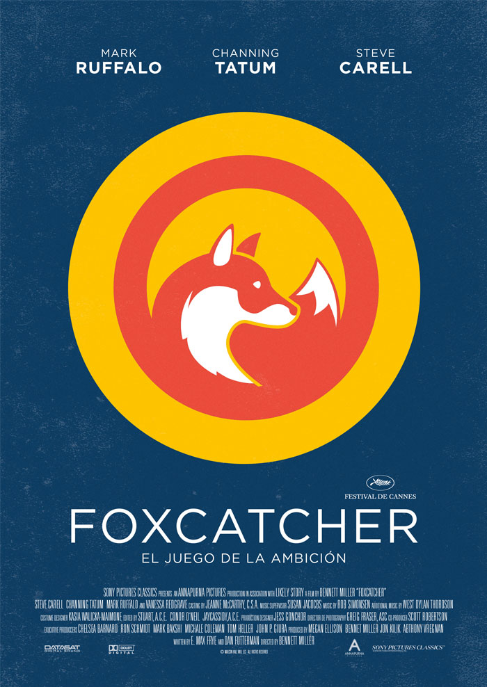 Cartel alternativo Foxcatcher