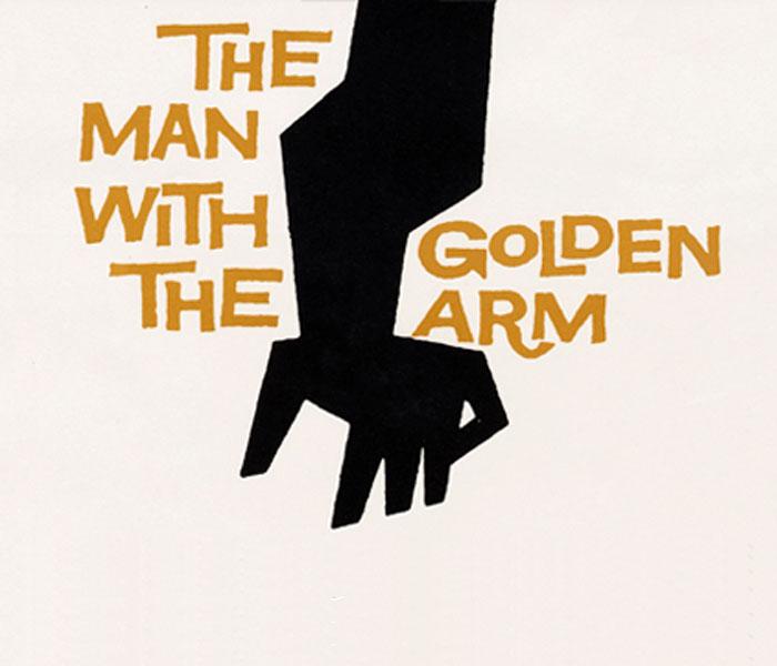 El hombre con el brazo de oro Saul Bass títulos de crédito