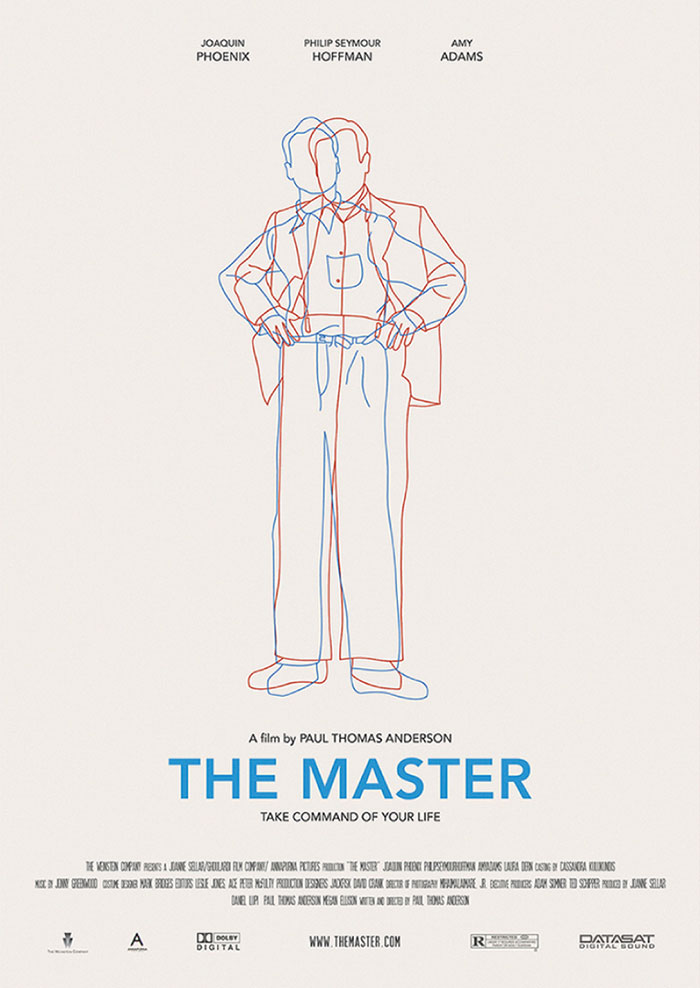 Cartel alternativo The Master