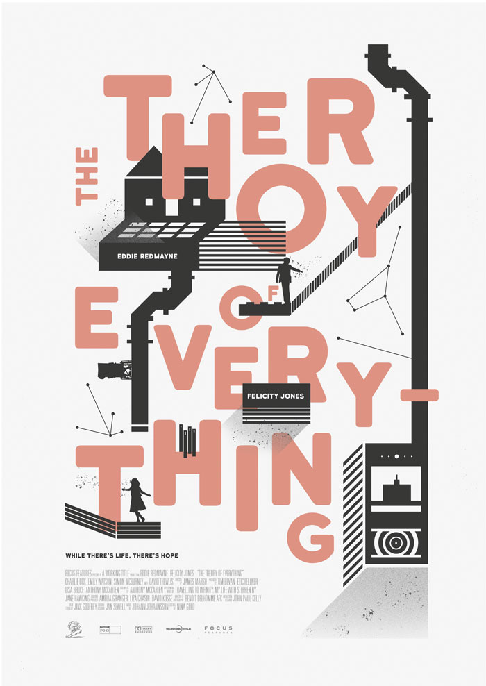 Cartel alternativo The Theory of Everything