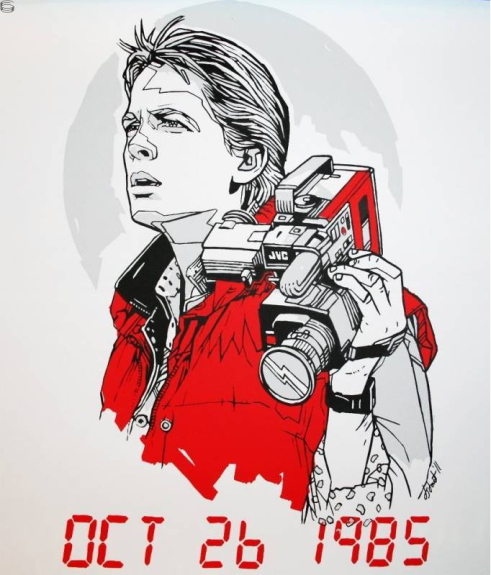 Tyler_Stout_Marty_McFly_Art