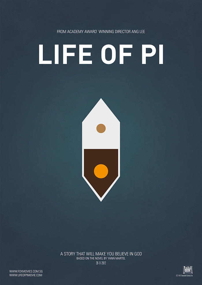 Cartel alternativo Life of Pi
