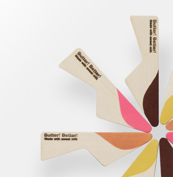 Packaging creativo original Yeongkeun Better Butter