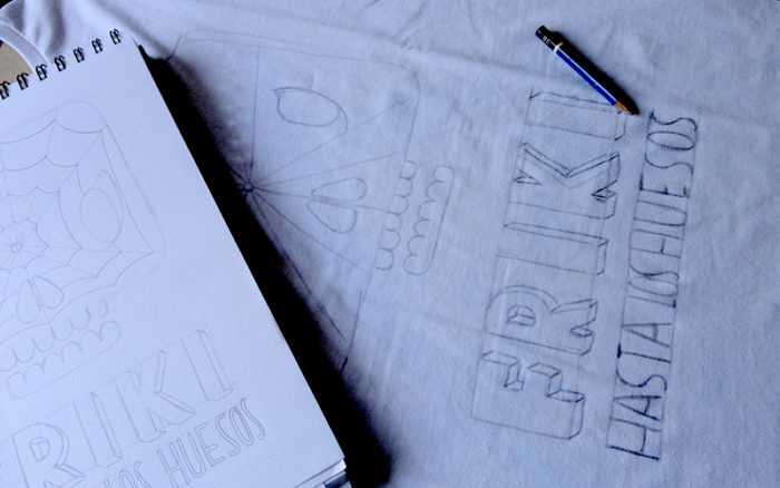 boceto camiseta 1