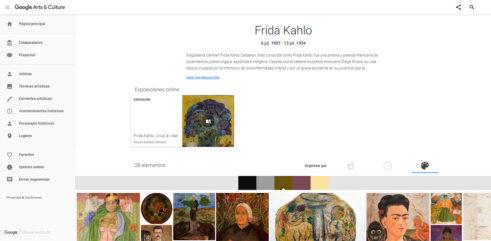 google cultural institute art cultura
