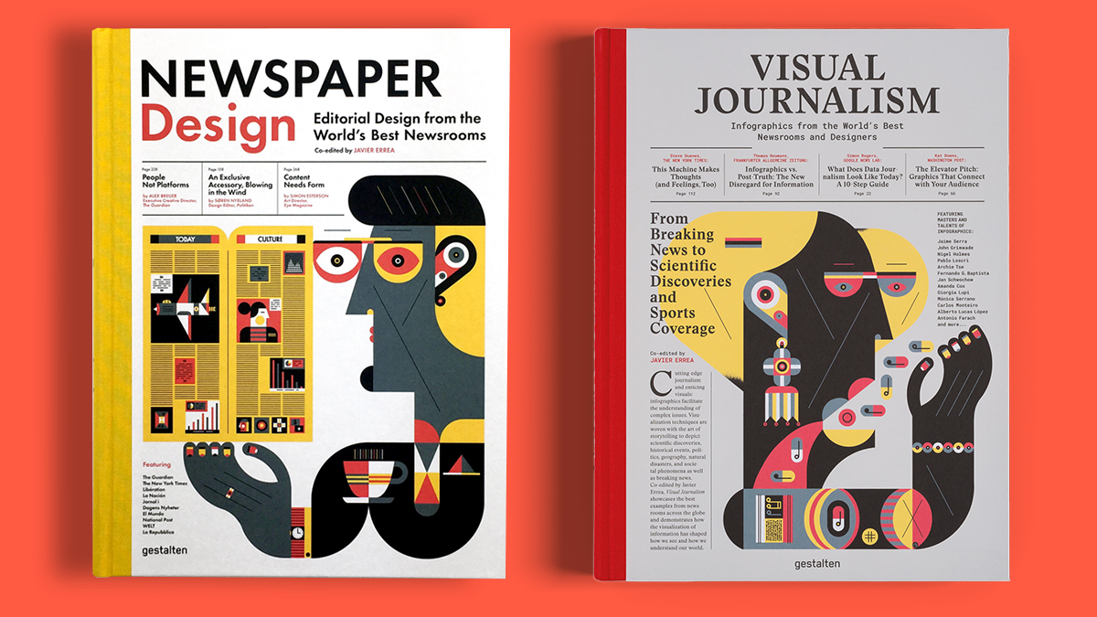 Newspaper Design y Visual Journalism de Gestalten y Javier Errea.