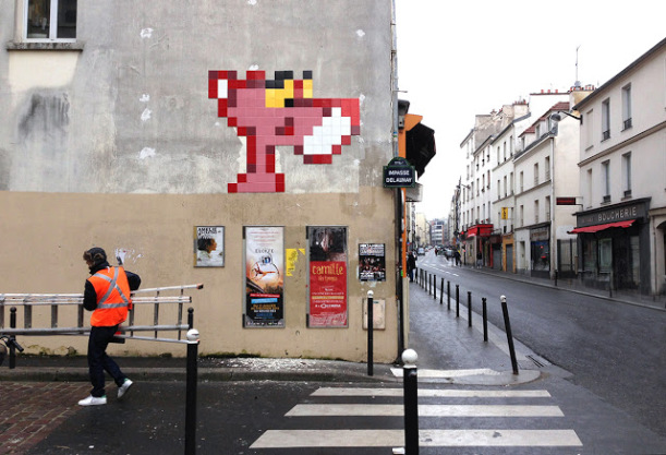 street art news invader cancun invasion ciudades pixel art 2