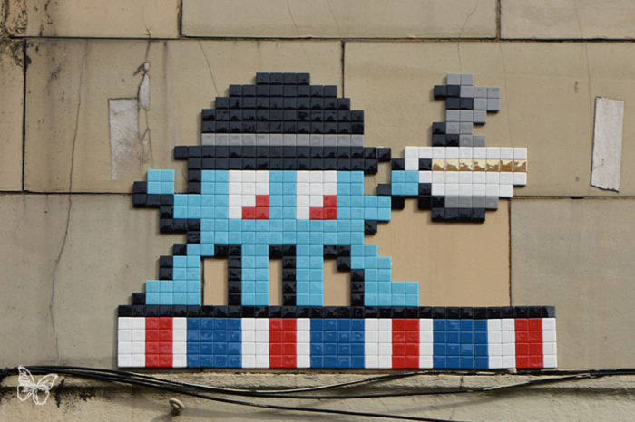 street art news invader invasion ciudades pixel art london