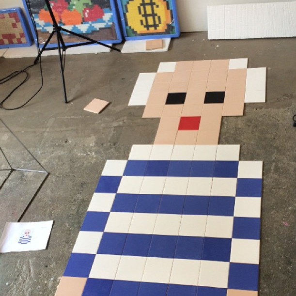 street art news invader picasso invasion ciudades pixel art paris