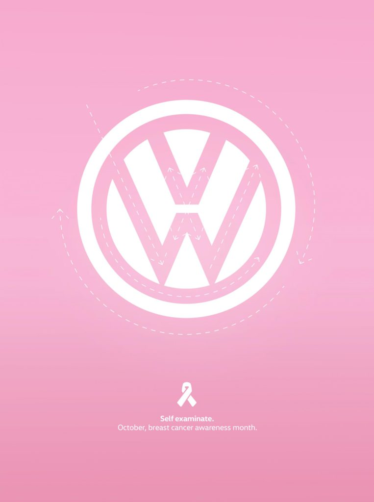 Campaña Follow The Line para Volkswagen de McGarry Bowen