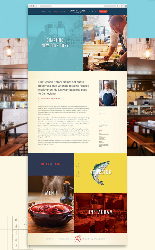 webs de restaurantes inspiracion diseno website